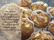 Muffins pomme caramel rhum