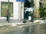 pleut Courage, fuyons