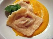 Soupe Orange Raviolis