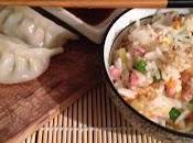 Raviolis légumes cantonais minute bonne année serpent d'eau