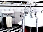 Salle bain rétro