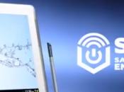 Samsung Galaxy Note 10.1 publicité avec Burton licornes zombies