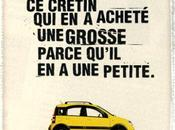 publicité automobile.