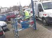 municipalité Bernay pleins flot travaux...