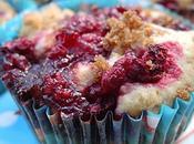 Muffins framboises-caramel, pour accélérer dégivrage congélateur