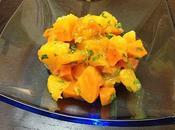 RETOUR VERS MARDI (mardi juillet 2012) Fraîcheur orange Ravioli jambon, sauce trois fromages Nuage melon