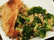 Poêlée brocoli quinoa {Recette Zone}