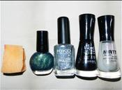 Nail art: Shining