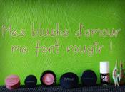 blushs d'amour BENEFIT, KIKO, BAREMINERALS, BOURJOIS, PEGGY SAGE