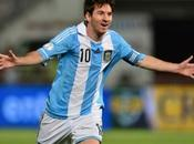 L'Argentine procède essais avec Messi