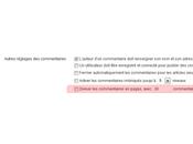 Détecter page commentaire WordPress