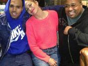 Jennifer Lopez Chris Brown ensemble studio