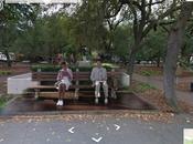 scènes films cultes capturées dans Google Street View