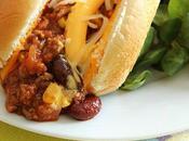 chili carne cheddar sandwich