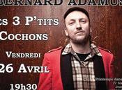 Bernard Adamus tournée France (2013)