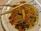 Nouilles chinoises poulet brocolis