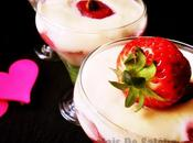 Tiramisu fraises Dessert verrine