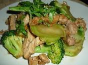 Emincés porc sautés brocolis
