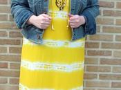 Look Maïté Kelly pour Prix Maxi Dress