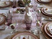 Délicate table rose pour pâques (entre autres) Delicate pink Easter else)
