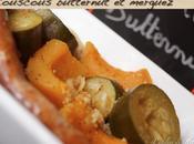 Couscous (presque) végétal courge butternut merguez