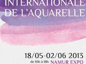 13ème Biennale l'Aquarelle Belgique Namur