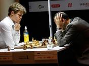 Échecs Norvège Carlsen Anand Ronde