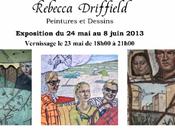Galerie Robert PEIRCE exposition Rebecca DRIFFIELD