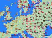 21/05/2013...Europe: Phénomène météo inversée 25°C Moscou,23°C Laponie ,12°C Paris 14°C Madrid