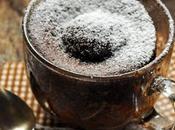 Quand faim vous frappe coin bois, vite chocolate cake micro-ondes minutes chrono