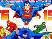 calendrier comics 1976
