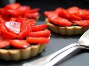 Tartelettes Choc' Fraises Battle Food