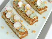 Toast seigle, purée d'asperges blanches chantilly fourme d'Ambert...IG (Culinoversion)