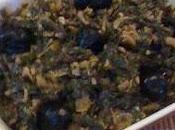 Salade épinards marocaine