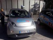 Lyon lancer Bluely, voiture électrique auto-partage