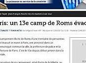 """Alerte """"interventions concertées"""" roms Bastille/République"""