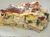 Lasagnes courgettes cancoillote