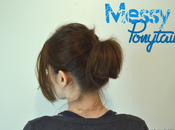 [Tutoriel] Coiffure Messy Ponytail