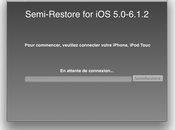 Semi-Restore comment restaurer iPhone, iPod iPad sans perdre jailbreak
