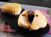 Muffins coeur chocolat
