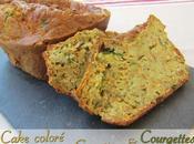 Cake coloré courgettes carottes