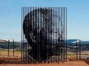 hommage d'acier Nelson Mandela