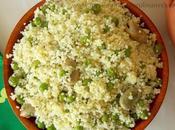 Mesfouf couscous petits pois (jelbana)