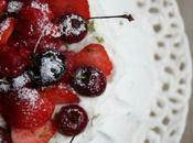 Pavlova Christophe Michalak fruits rouges citron vert
