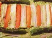 Flan d'asperges surimi