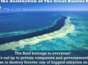 Pétition Pour protection Grande barrière Corail