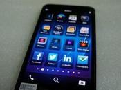 BlackBerry A10) montre dans démo