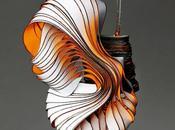 Paper bijoux sculptures Lydia Hirte