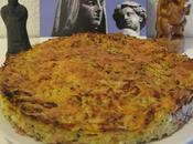 Plat: Gâteau Pommes Terre, Oignon, Courgette, Jambon