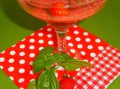 Soupe fraise basilic (dessert facile léger)
